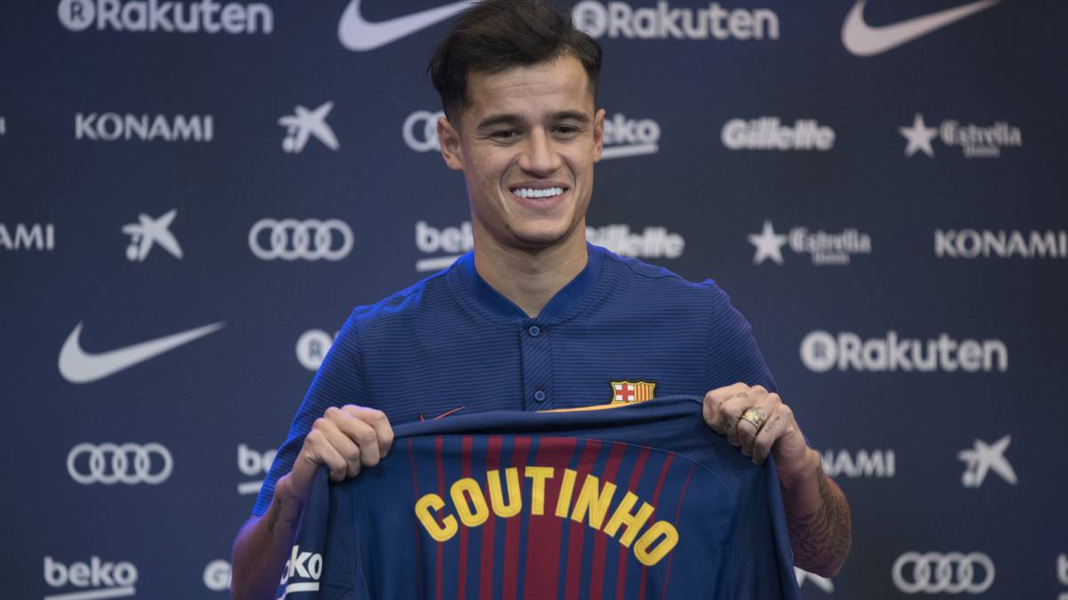 Coutinho will not wear number 7 as Barca save it for Griezmann - AS.com 09c32e12c