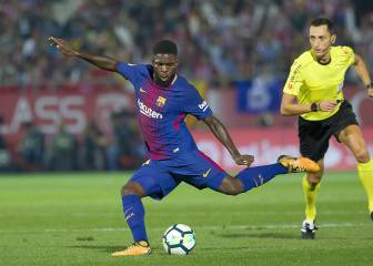 Umtiti fit and back in the squad for Betis match