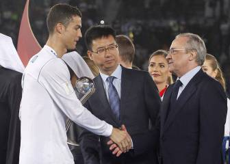 Florentino tells Cristiano: 'We can't pay you more...'