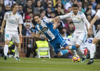 Descanso: remonta el Madrid