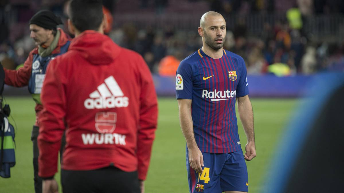 Mascherano to bid farewell to Barça at event on Wednesday