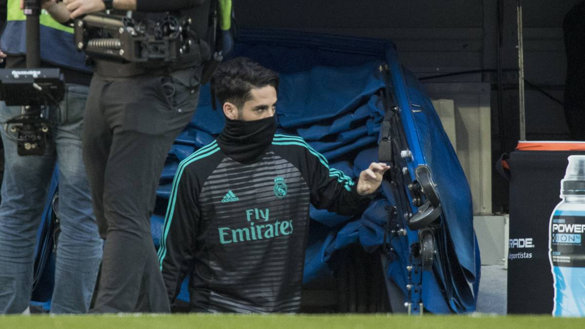 Isco, antes del Real Madrid - Deportivo.
