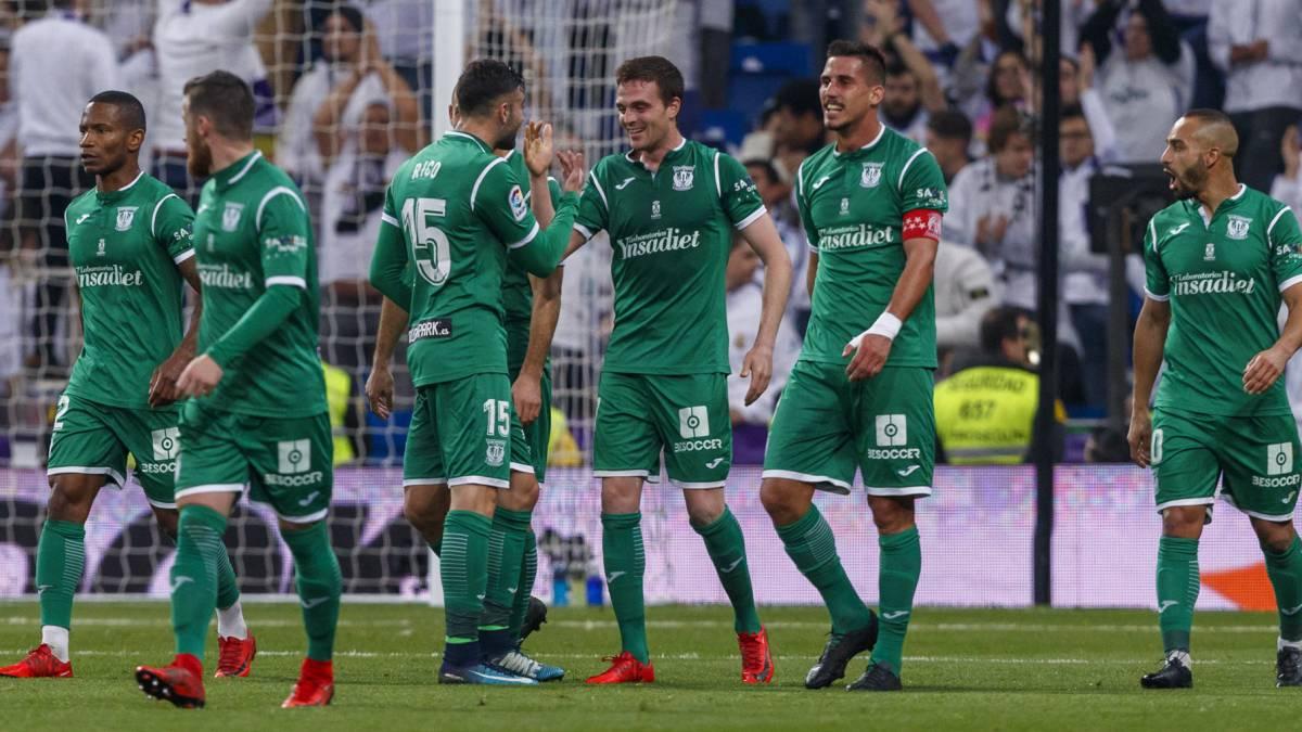 Real Madrid 1-2 Leganés  Eraso y Pires obran el milagro pepinero ... f8f15580e7484