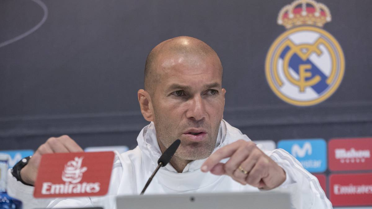 "Zidane: ""We will lift ourselves out of it, I'm telling you"""