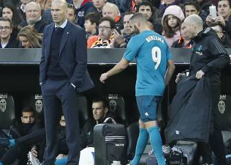 Benzema throws down the gauntlet to Zidane