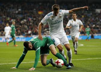 Deportivo and Newcastle leading Marcos Llorente chase