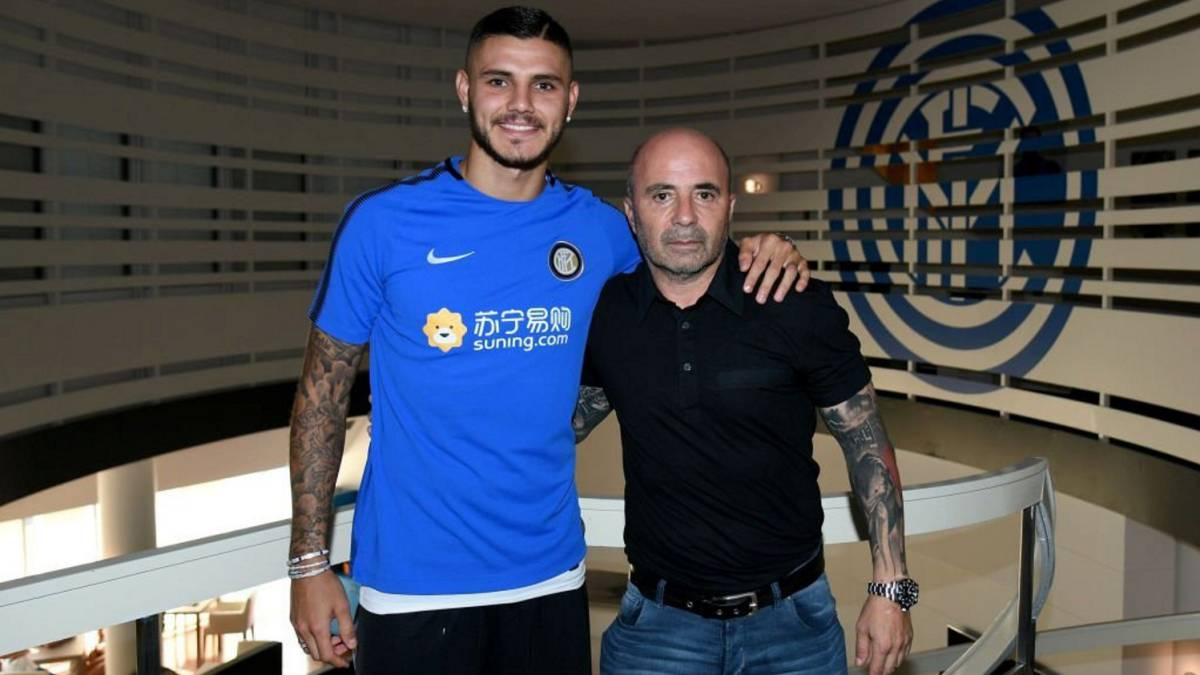 "Sampaoli: ""Icardi is tempted by Real Madrid"""