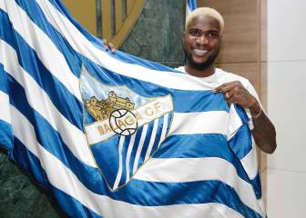 "Brown Ideye: ""I had other offers but Málaga's convinced me"""