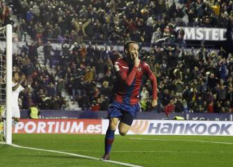 Levante bring Real Madrid back to reality