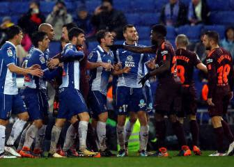Espanyol-Barcelona tension spills into tunnel post game, says ref
