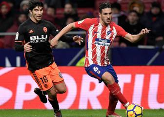 Koke, Atlético's youngest player to reach 350 games