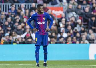 Dembélé misses Barcelona training with stomach flu