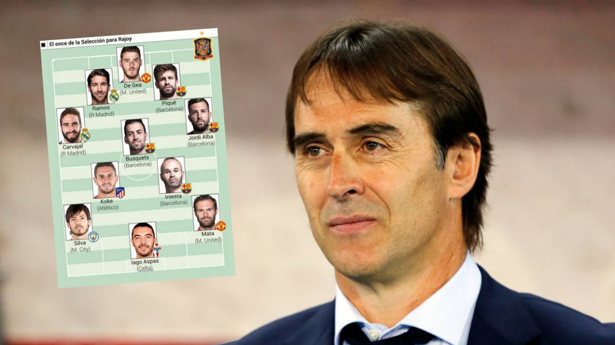 Spanish PM picks his World Cup XI... Lopetegui gives thumbs-up