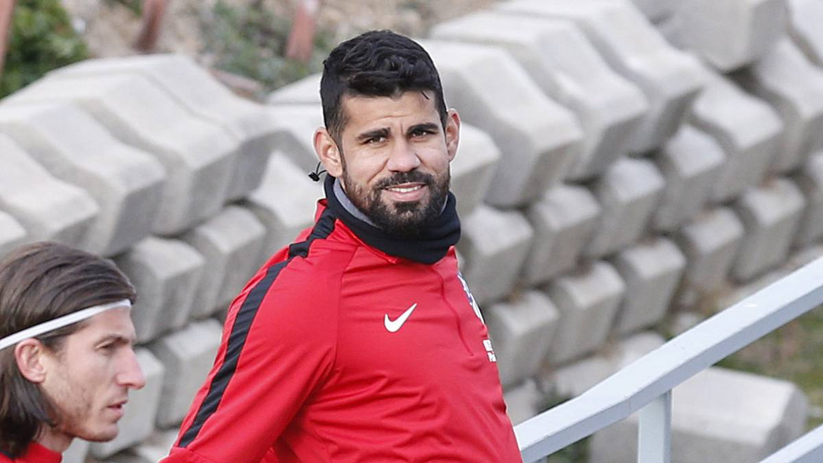 Atlético's Diego Costa ruled out of Copenhagen trip