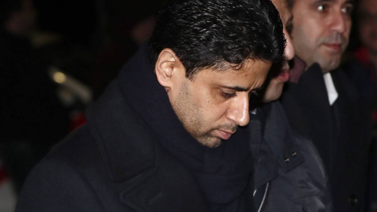 "PSG president Al Khelaifi: ""The referee helped Madrid"""