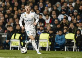 Toni Kroos facing at least two weeks out with knee injury