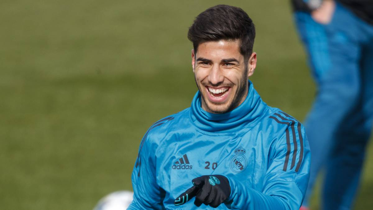 Real Madrid: Asensio pushing for place in Zidane's team