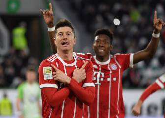 Lewandowski decide en el 90'