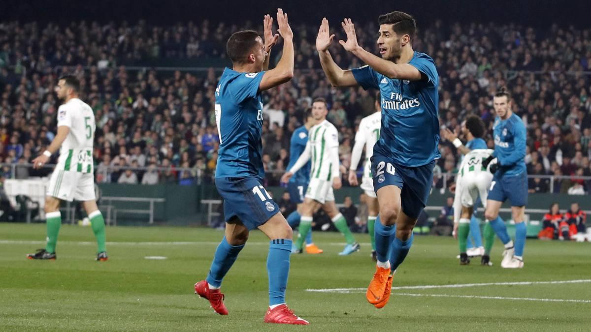 Betis 3 5 real madrid resumen resultado y goles del for Resultado partido real madrid hoy