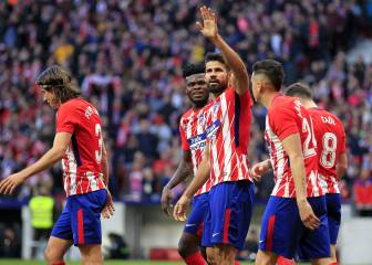 Slow starters Atlético step up a gear in the second half