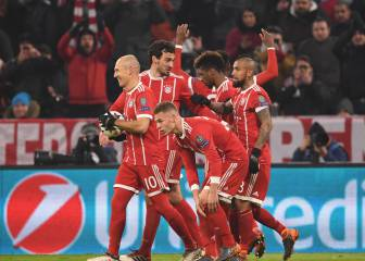 Bayern romp home after Besiktas suffer early red card