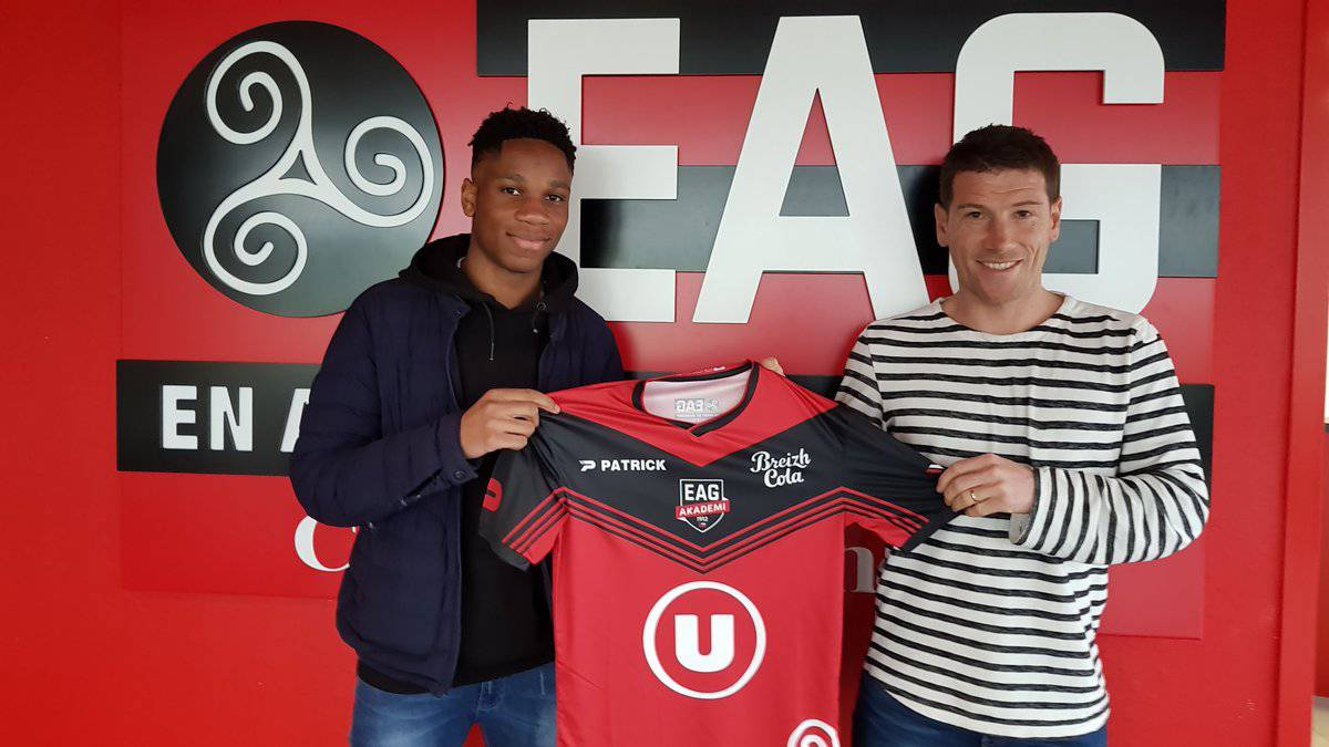Didier Drogba's son signs for Ligue 1 side EA Guingamp