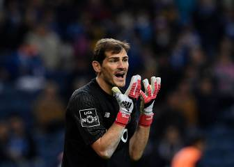 Casillas insinúa en Twitter un arbitraje favorable al Sporting