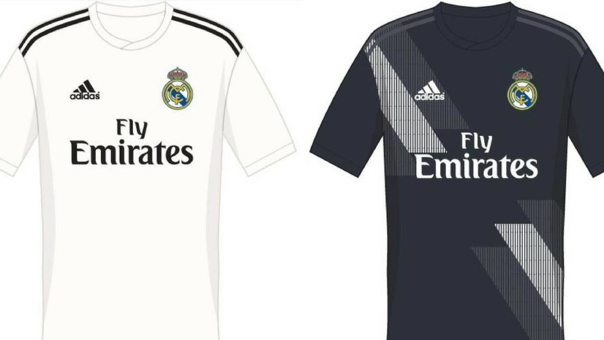 d2378c00a01 Possible 2018 19 Real Madrid kit filtered online - AS.com