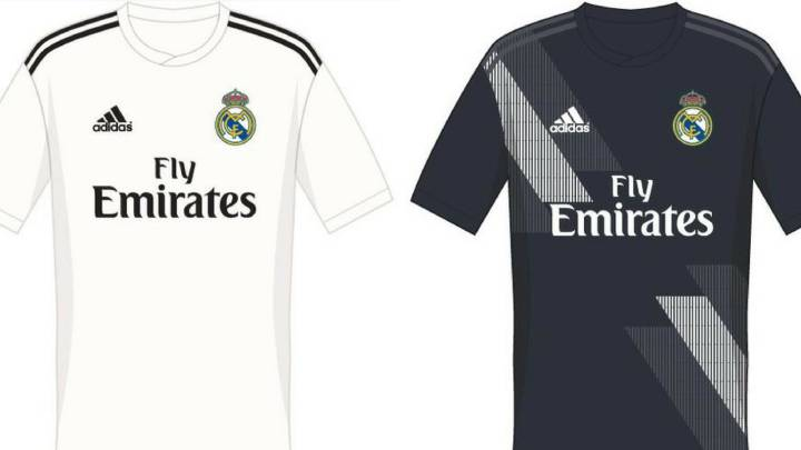 online retailer c2aa5 b4ab0 Possible 2018/19 Real Madrid kit filtered online - AS.com