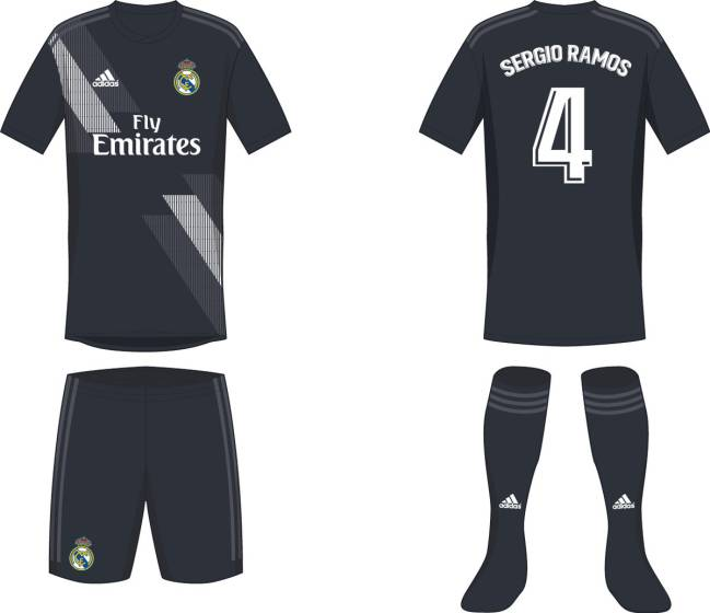 eebf1c3bf Possible 2018 19 Real Madrid kit filtered online - AS SINGAPORE
