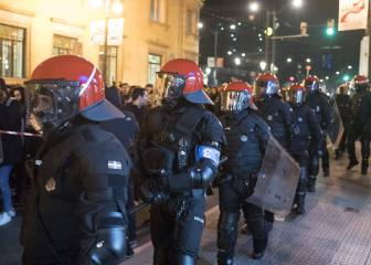 Bilbao protects itself from 800 Russian ultras in the city