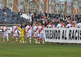 Rayo Vallecano fined €30,000 for anti-racist tifo