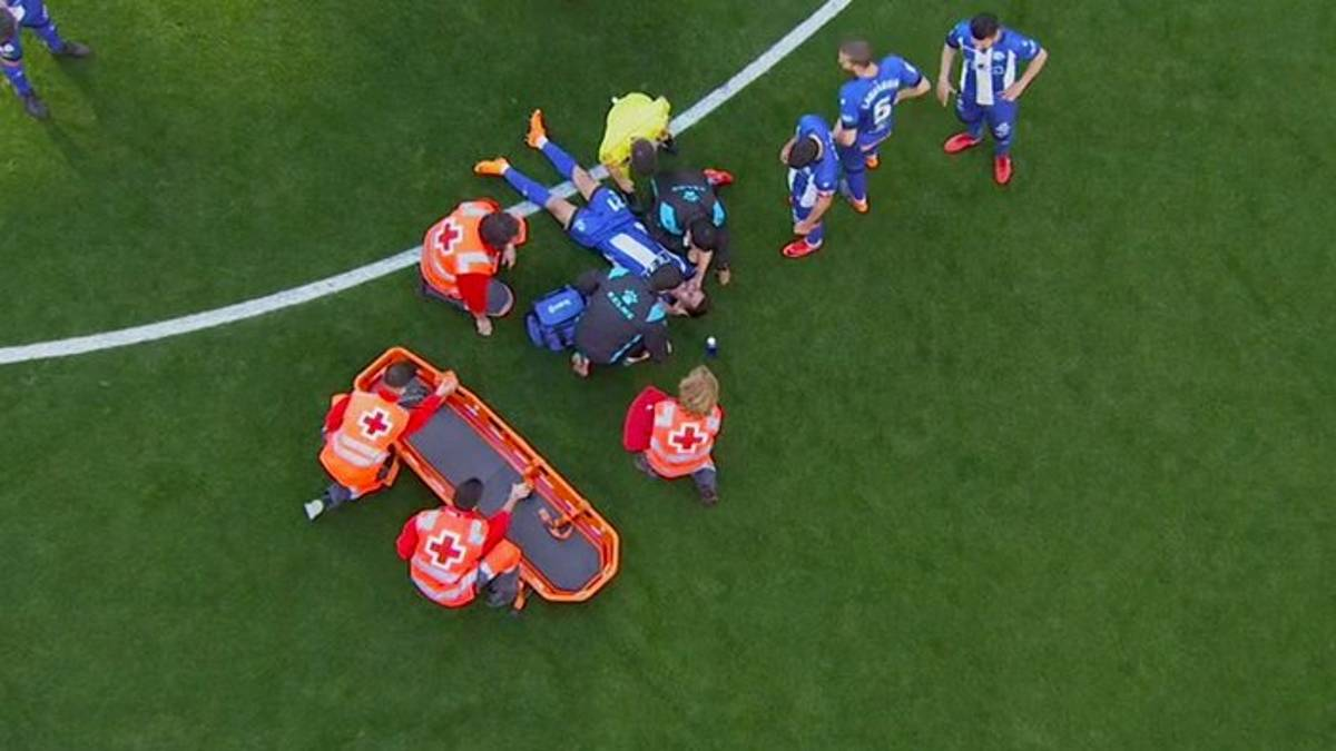 Hernán Pérez taken to hospital despite playing 90' against Real