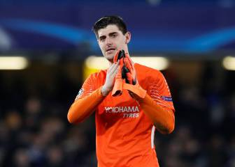Thibaut Courtois reportedly holds talks with PSG
