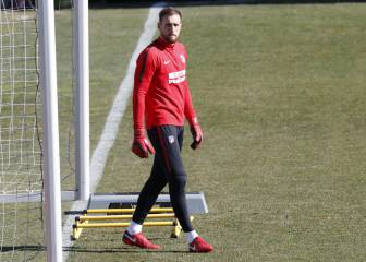 No change for Jan Oblak who has yet to renew with Atlético