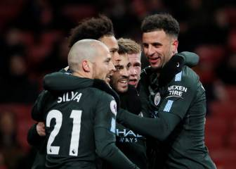 El City de Guardiola arrasa al Arsenal en media hora