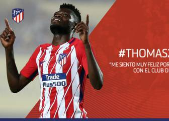 Partey on! Thomas renews with Atletico until 2023