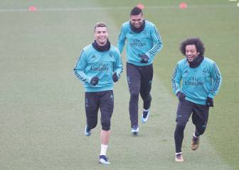 Cristiano and Marcelo return to the fold