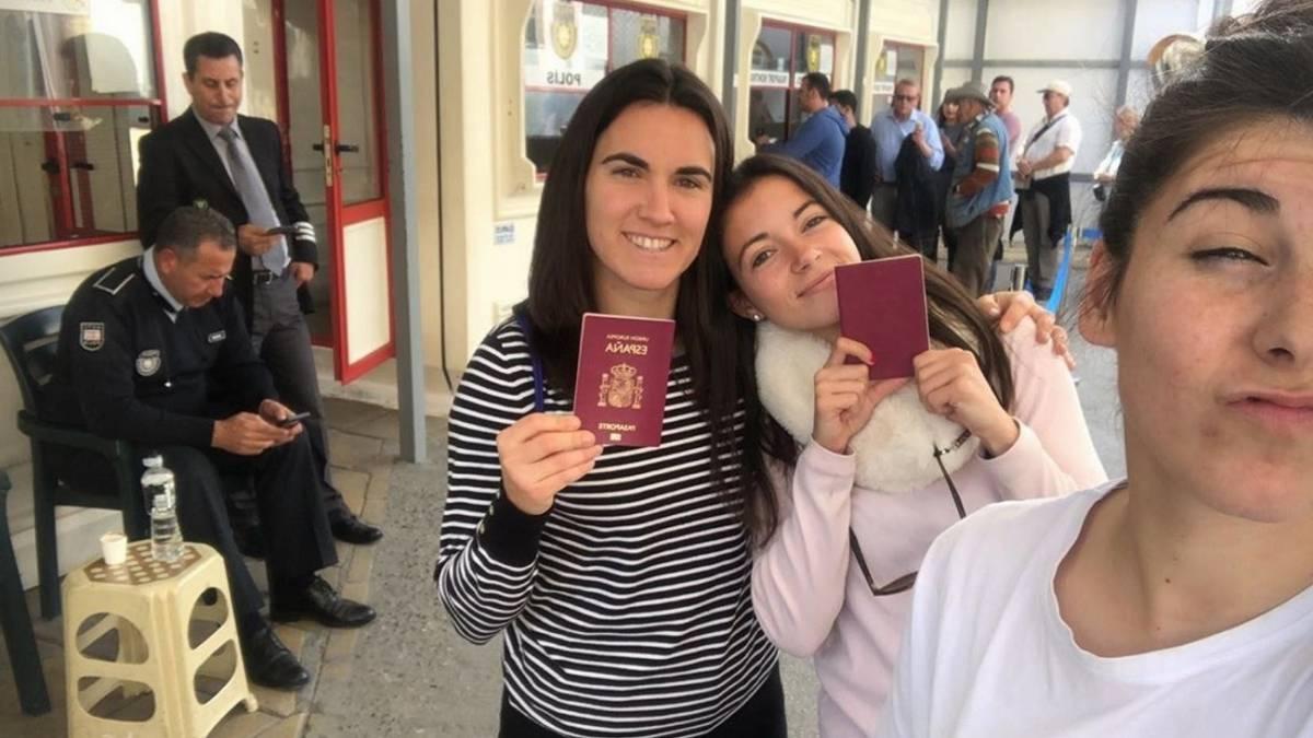 Las internacionales se van de turismo en Chipre en su día libre