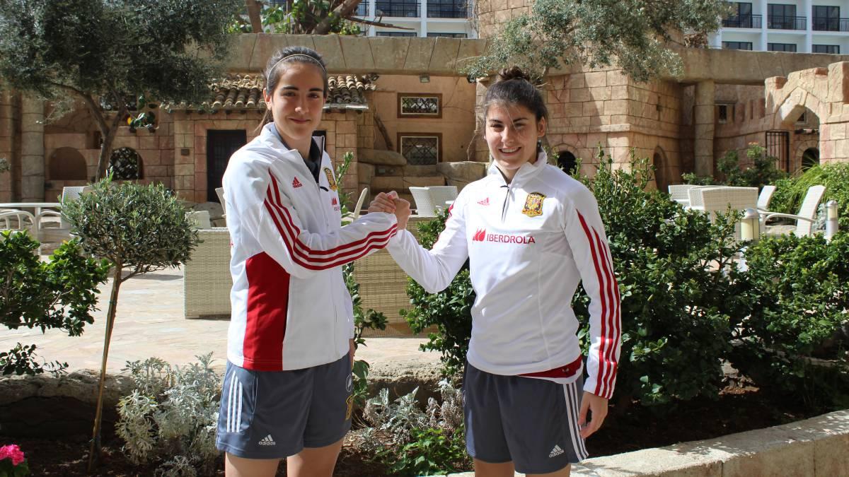 Lucía y Rocío: las 'novatas de La Roja' pisan fuerte