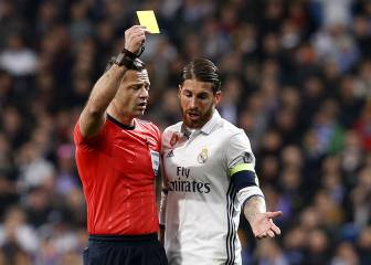 The Champions League's 10 most carded players
