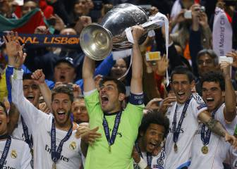 Iker Casillas, leyenda de la Champions League