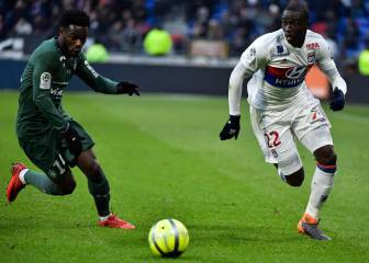 Barça monitoring the progression of Lyon's Ferland Mendy