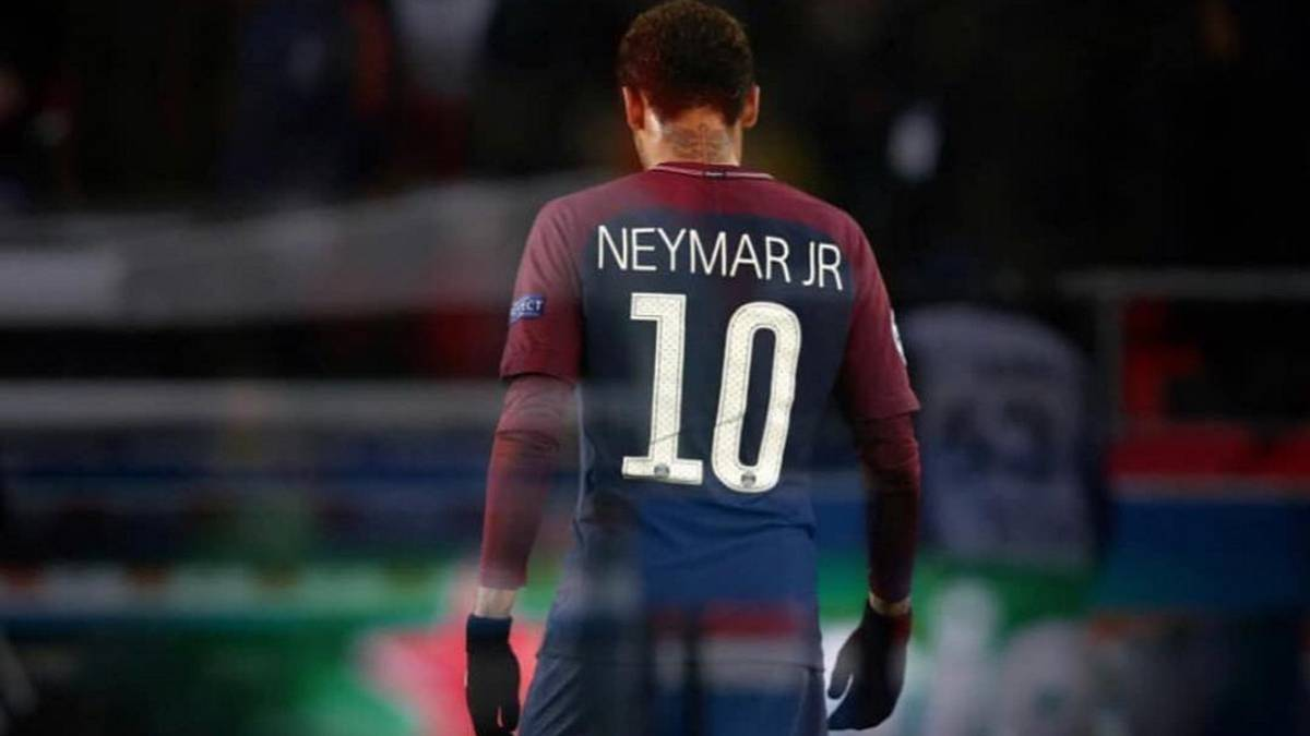 PSG's Neymar Jr sends an emotional message to his team