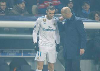 Gareth Bale cuts a frustrated figure