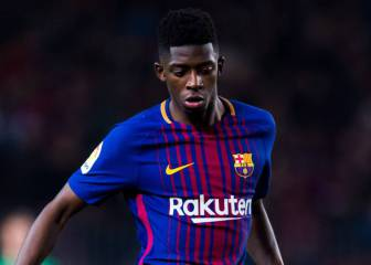 Dembélé starts in Catalan Super Cup