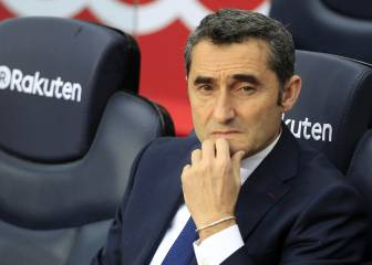 "Valverde: ""We are happy with Dembele"""