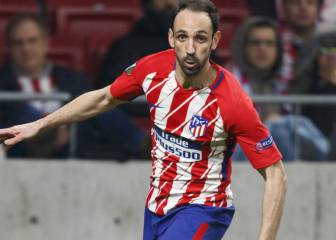 Juanfran renews with Atlético until 2019 - 'El Larguero'