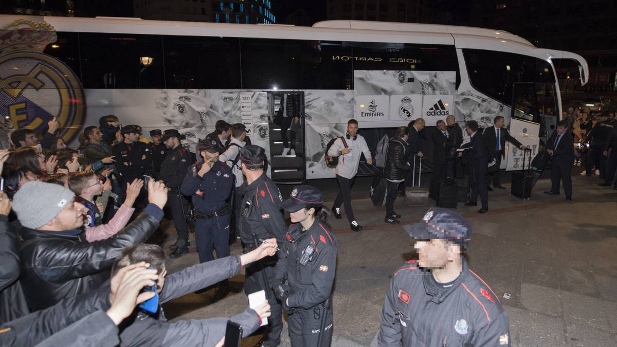 PSG asked police not to provide escort for Real Madrid to game