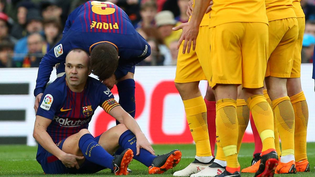 Iniesta edges closer to return